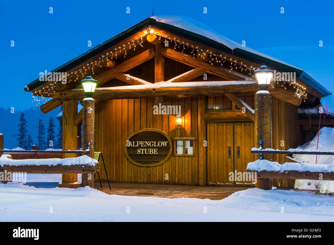 Outside The Alpenglow Stube Restaurant North Peak Keystone