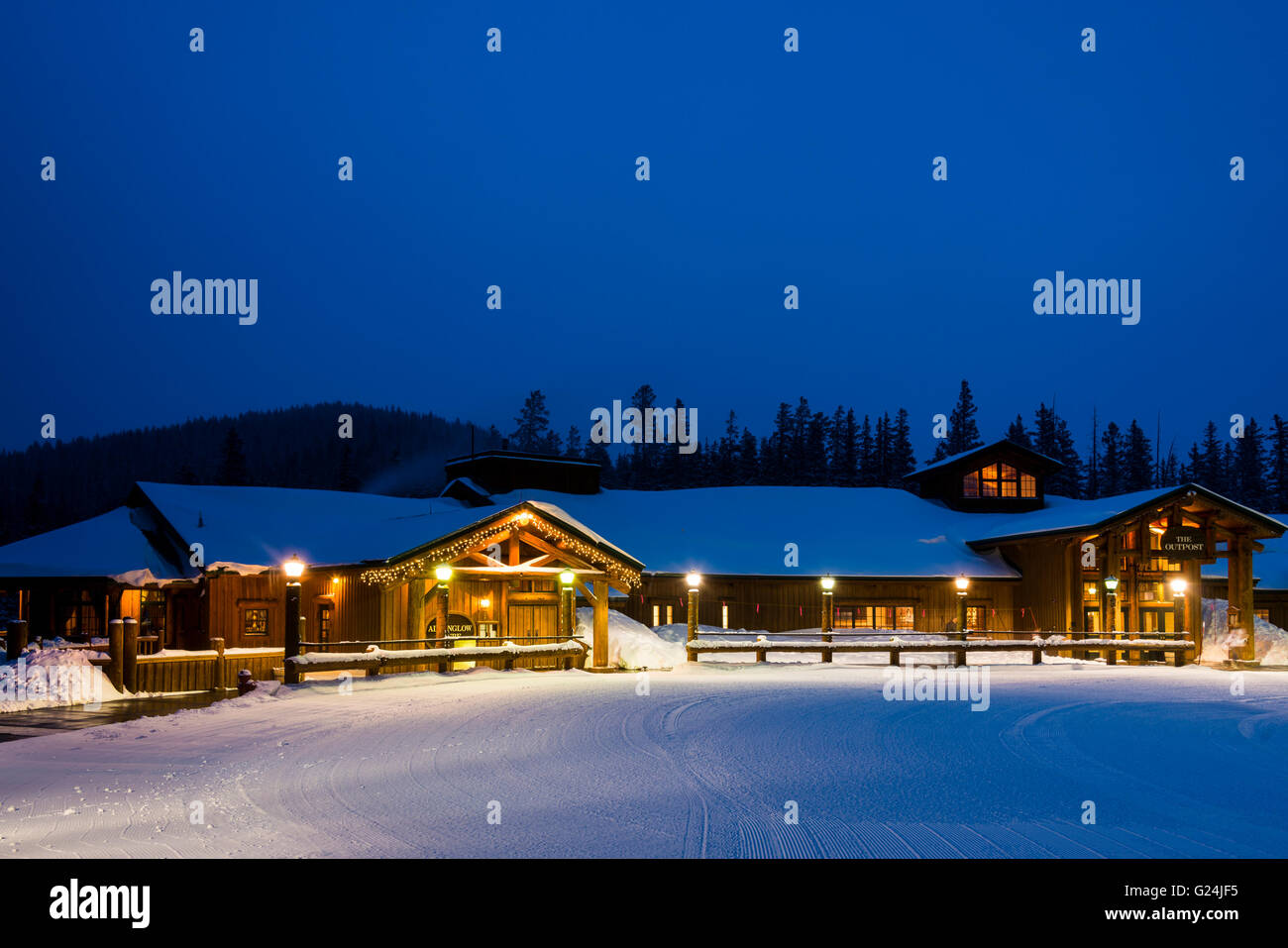 Outside The Outpost And Alpenglow Stube Restaurants North