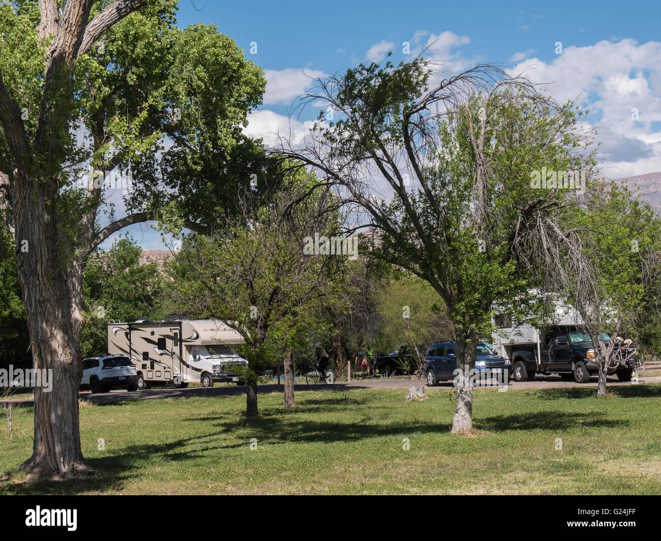 Rio Grande Village Campground Big Bend National Park