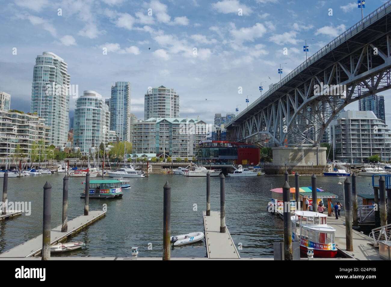false creek Vancouver - Stock Image