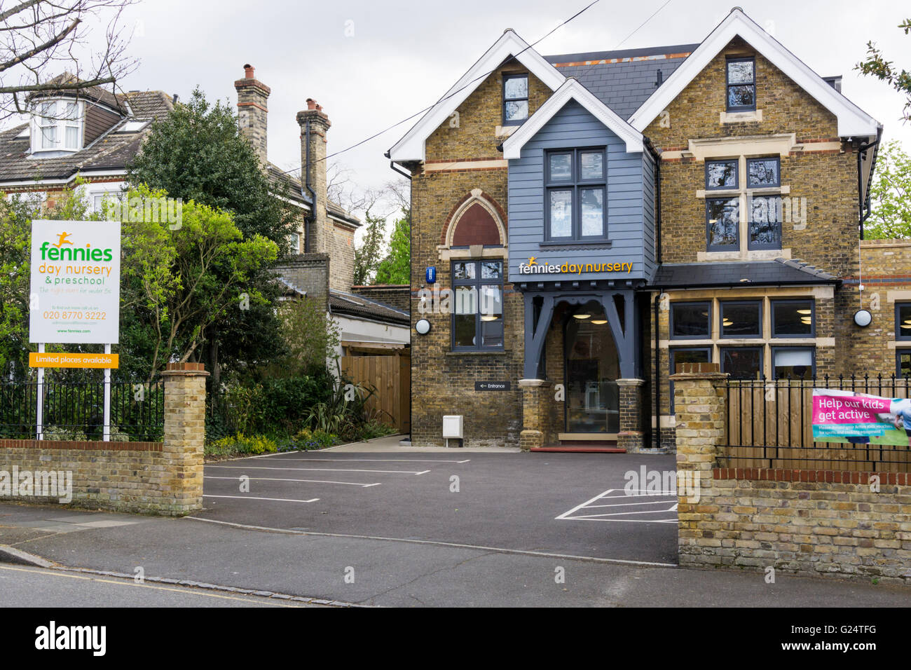 Fennies Day Nursery & Preschool in Bromley, Kent. - Stock Image