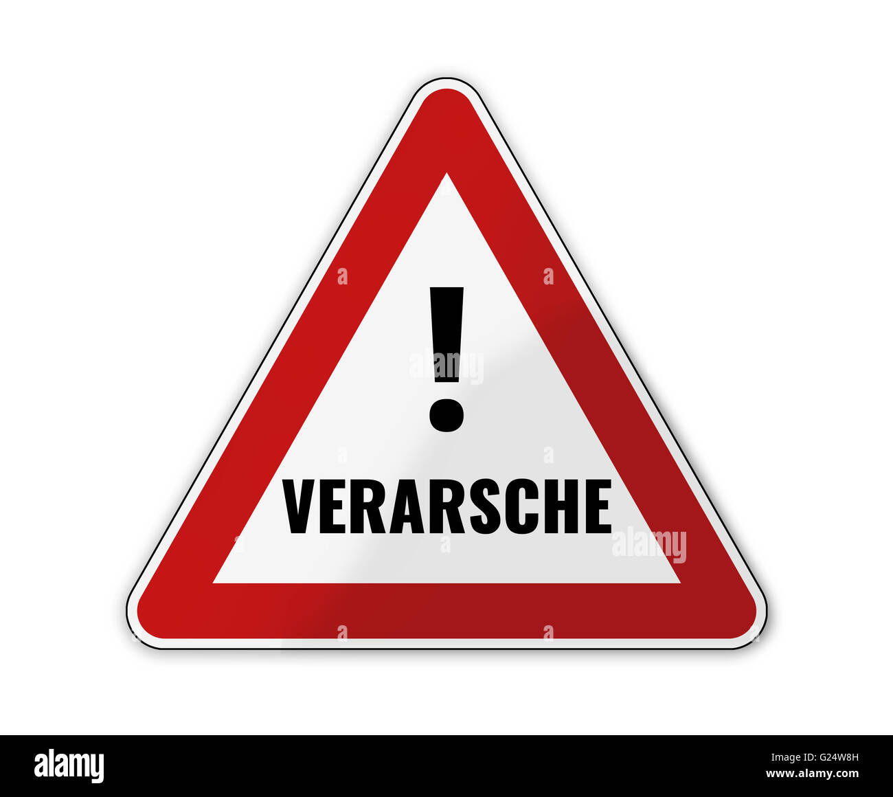 Verarsche - Stock Image