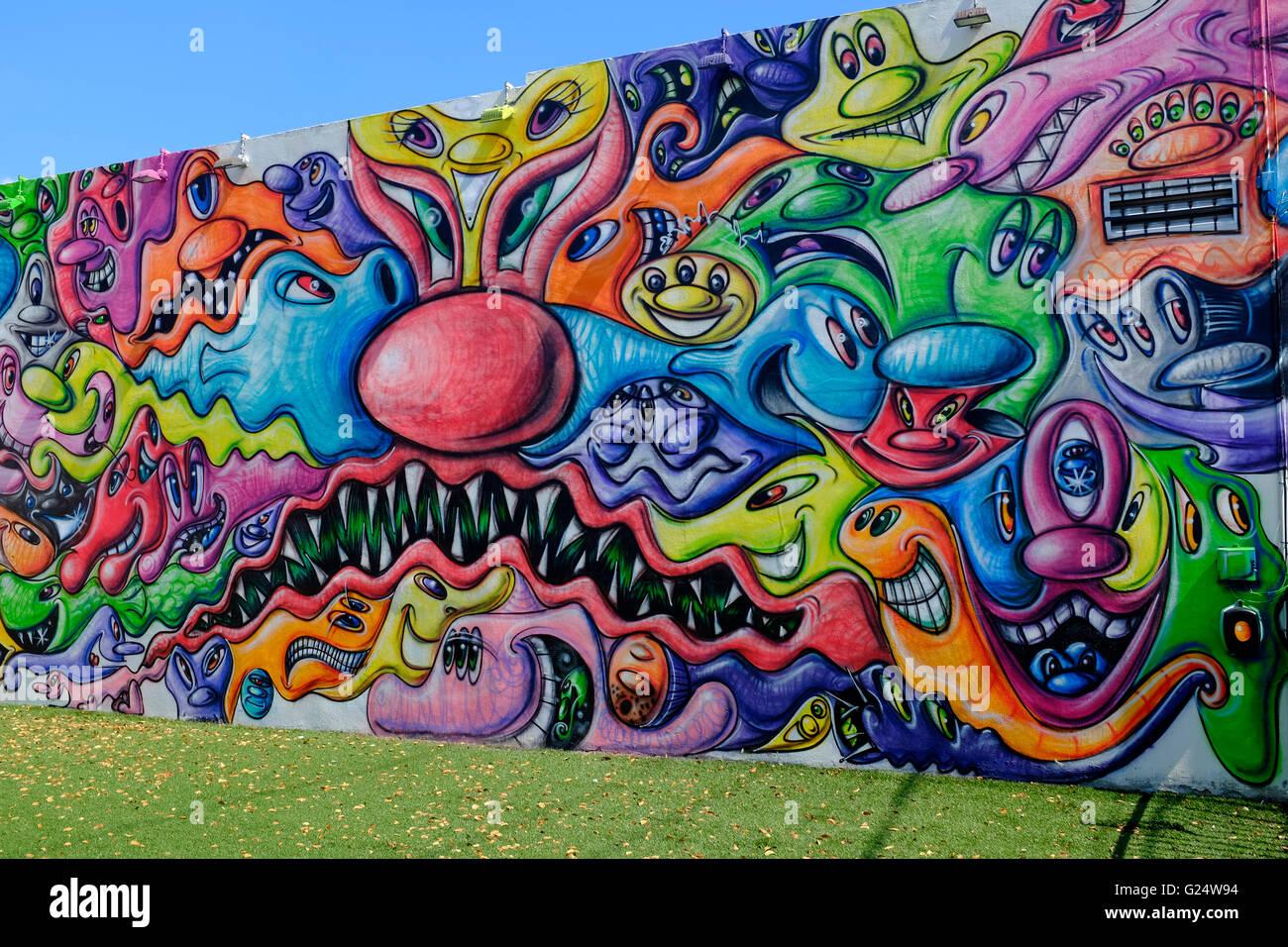 Wynwood Art District, Miami, Florida, USA Stock Photo: 104599184 - Alamy