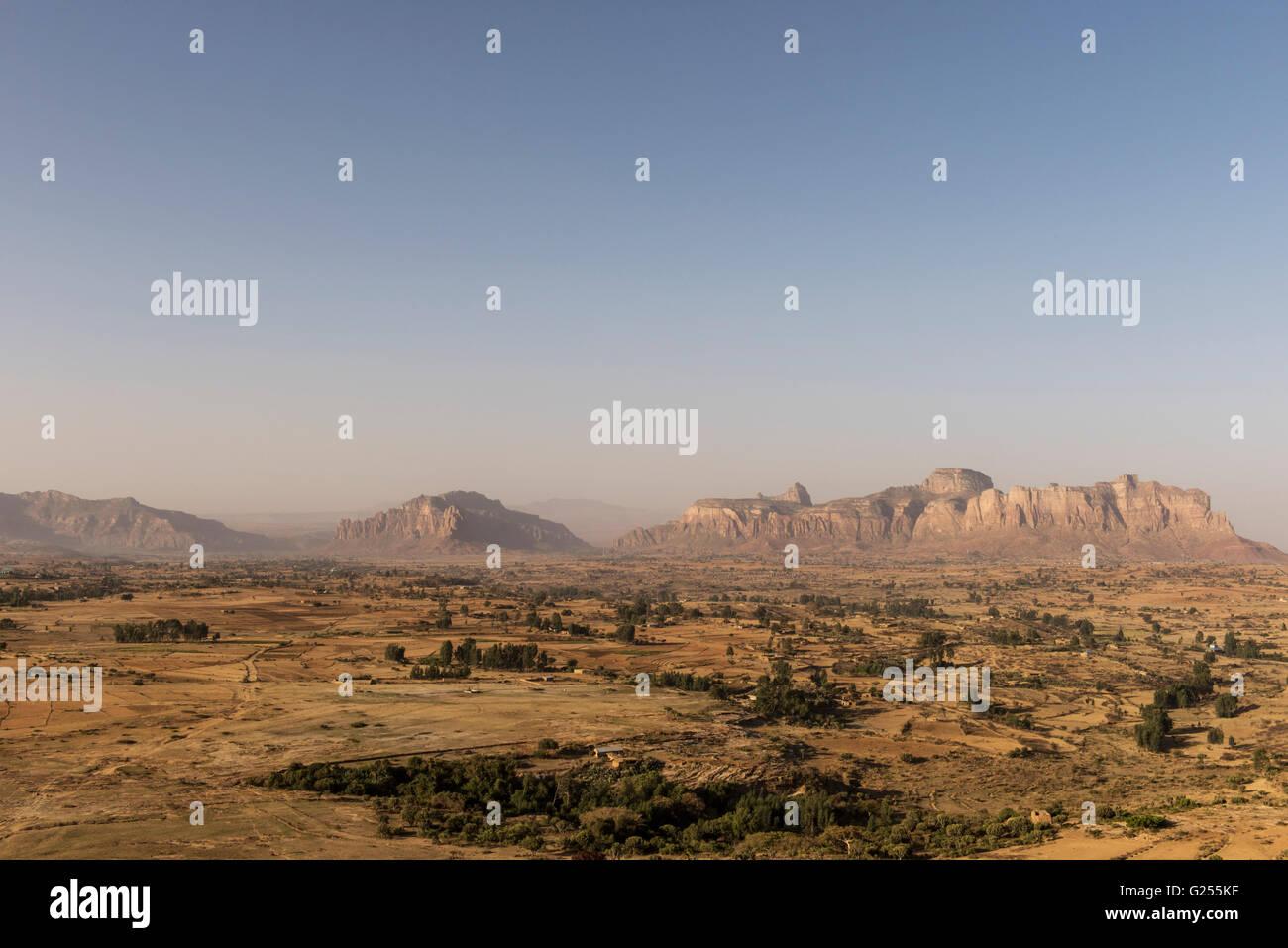 View of Gheralta, Ethiopia - Stock Image