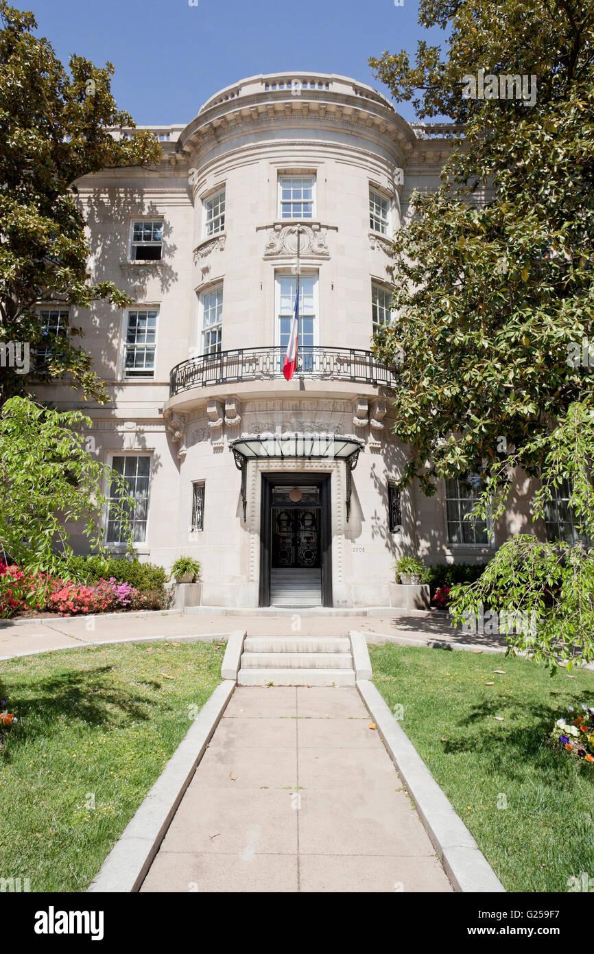 Residence of the Ambassador of Egypt - Washington, DC USA - Stock Image