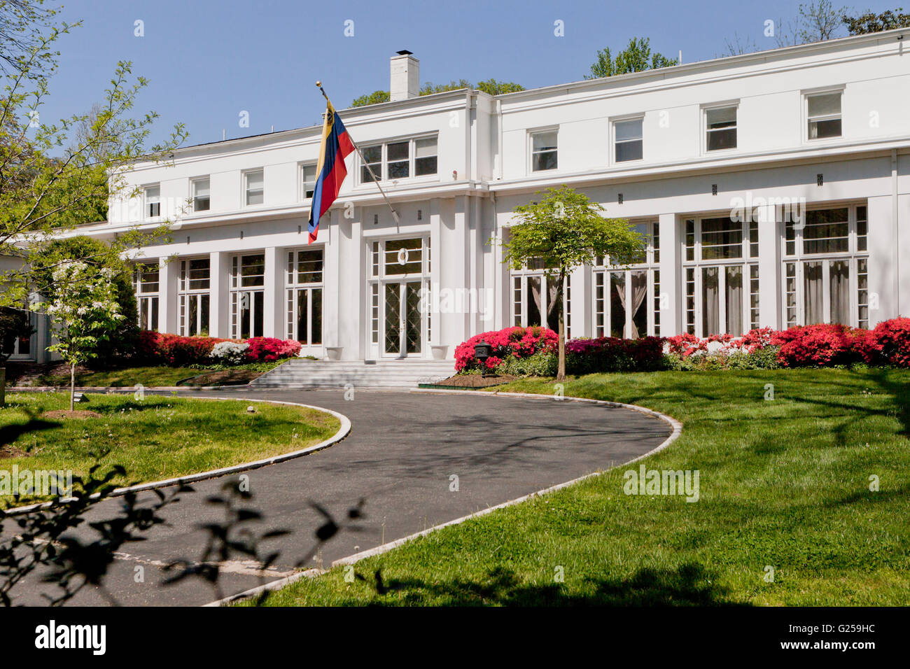 Embassy of Venezuela, Bolivarian Hall - Washington, DC USA - Stock Image