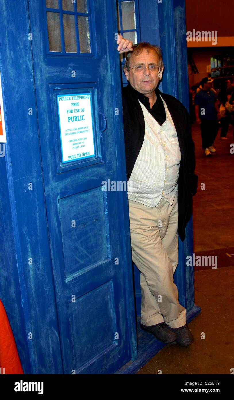 sylvester mccoy at  london film and comic con at earls court london - Stock Image