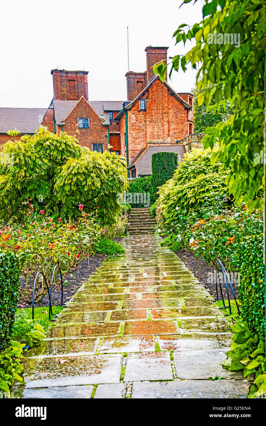 Chartwell, former home of Sir Winston Churchill - Stock Image