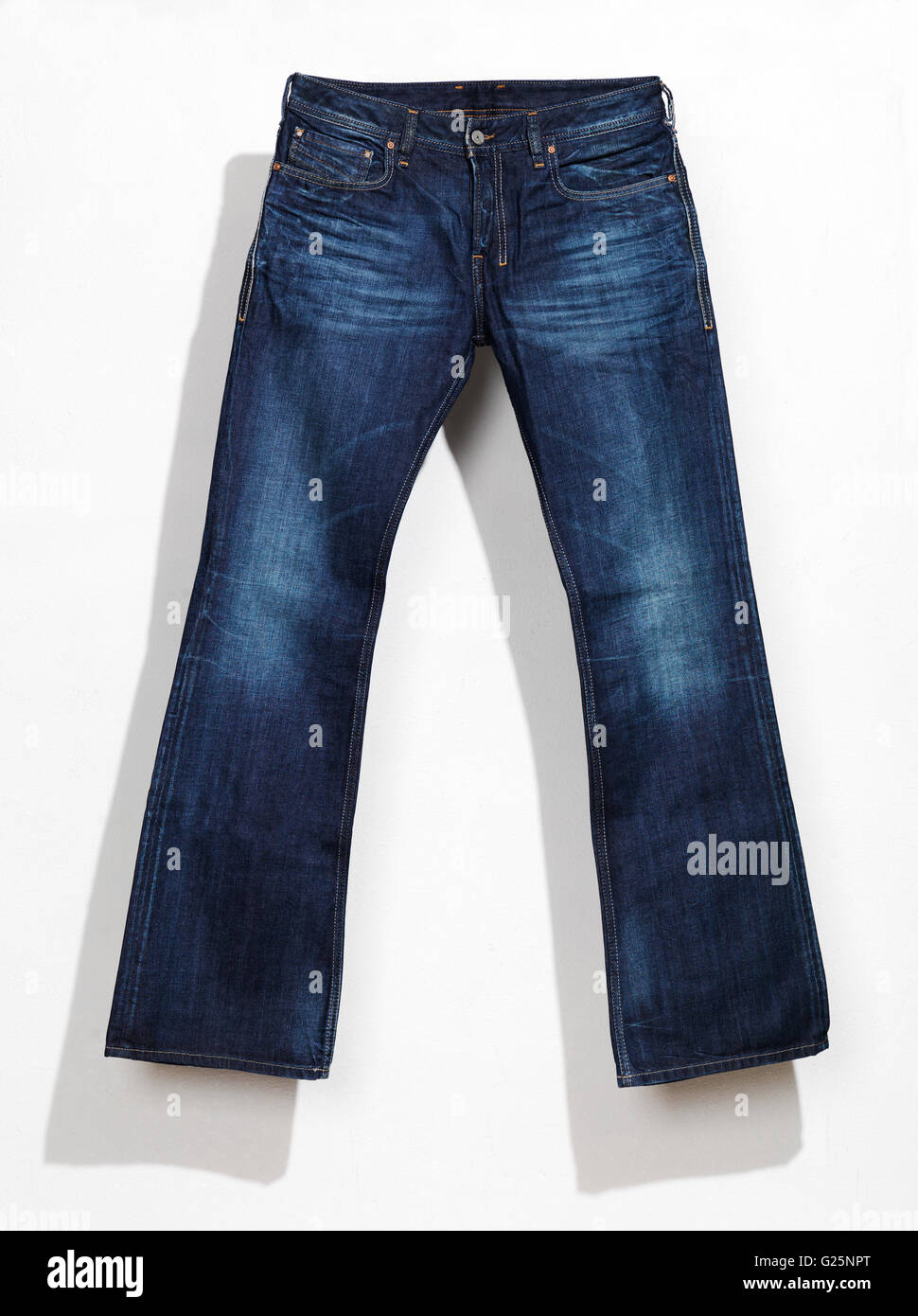 Blue jeans - Stock Image
