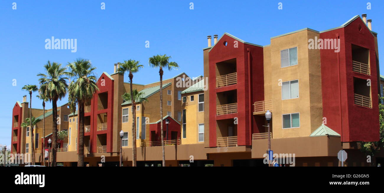 Commercial Building -  The exterior of a new, modern commercial building Stock Photo