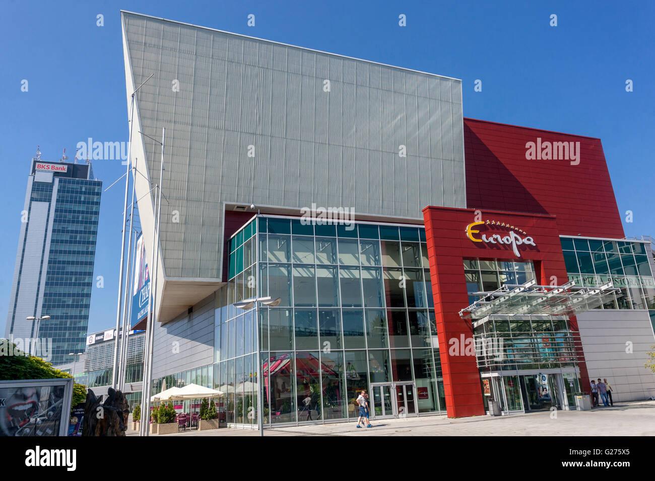 2e90d58b2 Europa Shopping Centre, Banska Bystrica, Slovakia, Europa - Stock Image