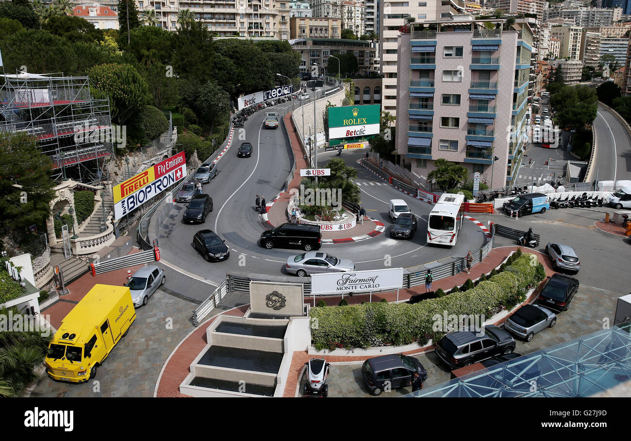 Grand Hotel Hairpin High Resolution Stock Photography And Images Alamy
