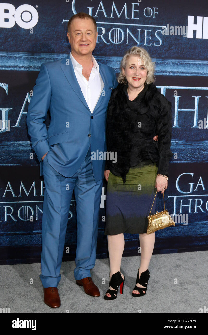 Game of Thrones' Season 6 premiere screening held at TCL Chinese Theater IMAX  Featuring: Owen Teale Where: - Stock Image