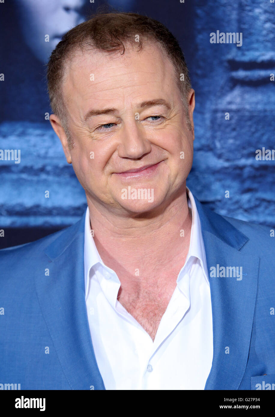 Los Angeles premiere for season 6 of HBO's 'Game of Thrones' - Arrivals  Featuring: Owen Teale Where: - Stock Image