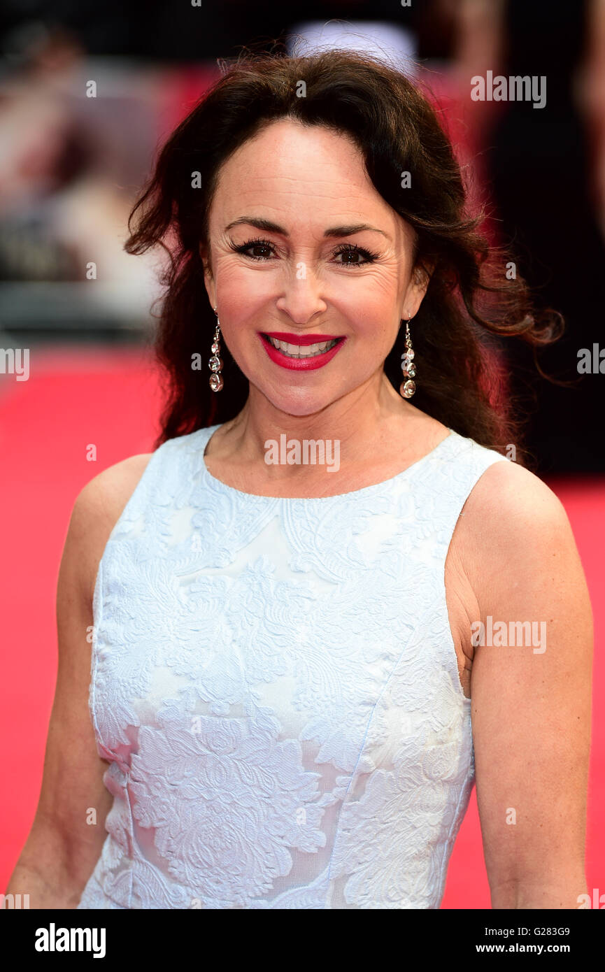 Samantha Spiro Attending The Me Before You European Film Premiere At Stock Photo Alamy