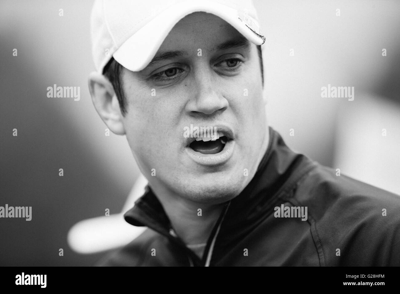 WENTWORTH, UK: May, 25, 2016 Vernon Kay competing in the BMW PGA Celebrity Pro-Am at Wentworth. - Stock Image