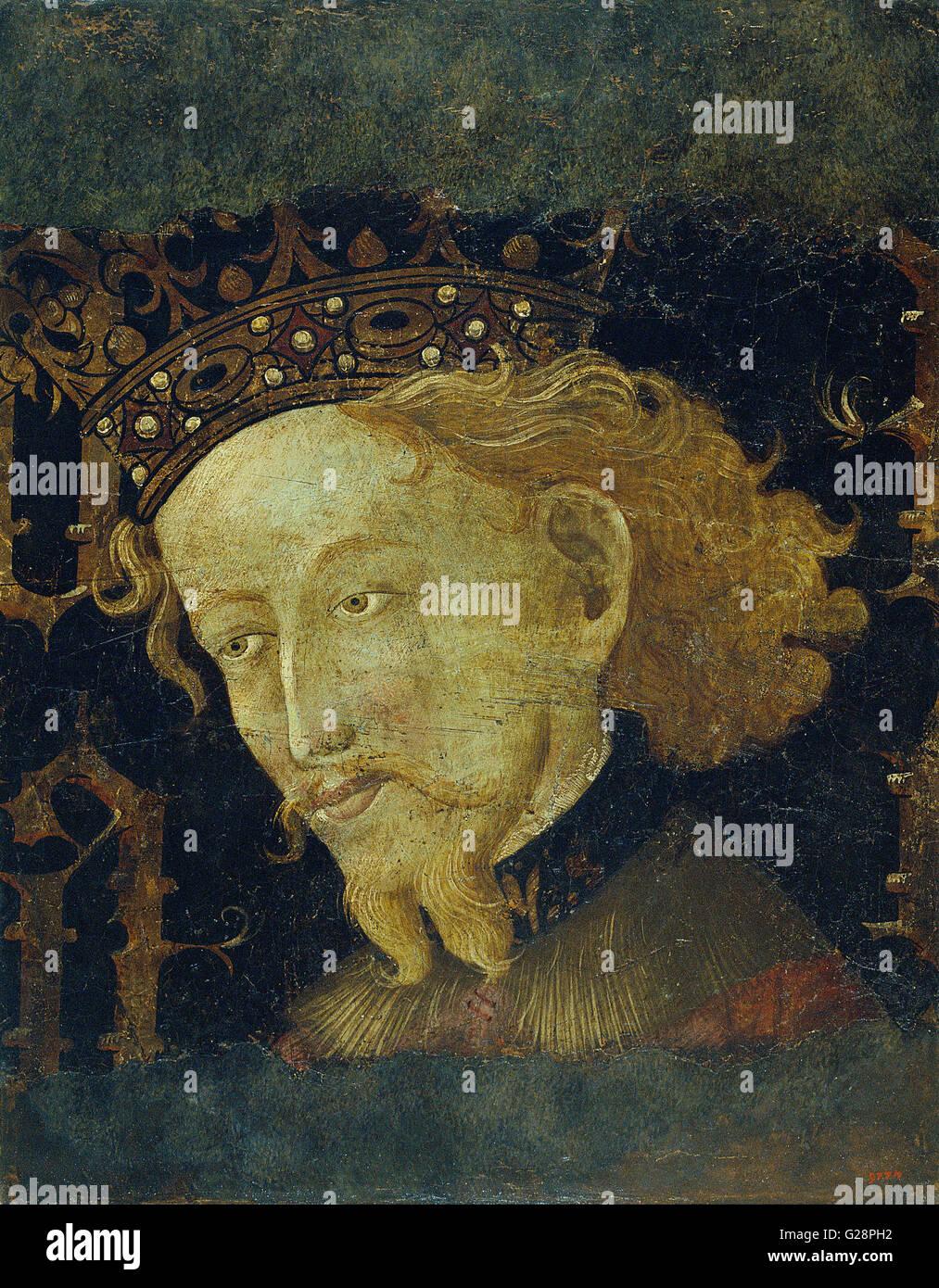 Jaume Mateu - James I the Conqueror  - MNAC - Barcelona - Stock Image