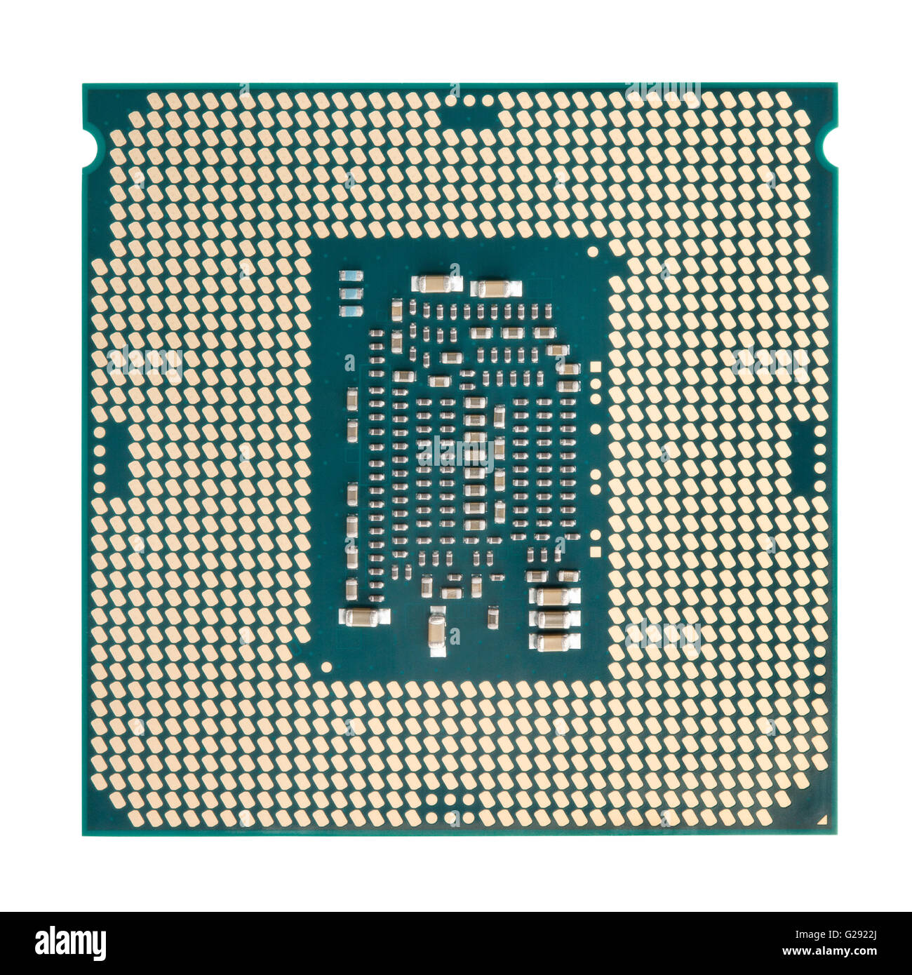 cpu isolated - Stock Image
