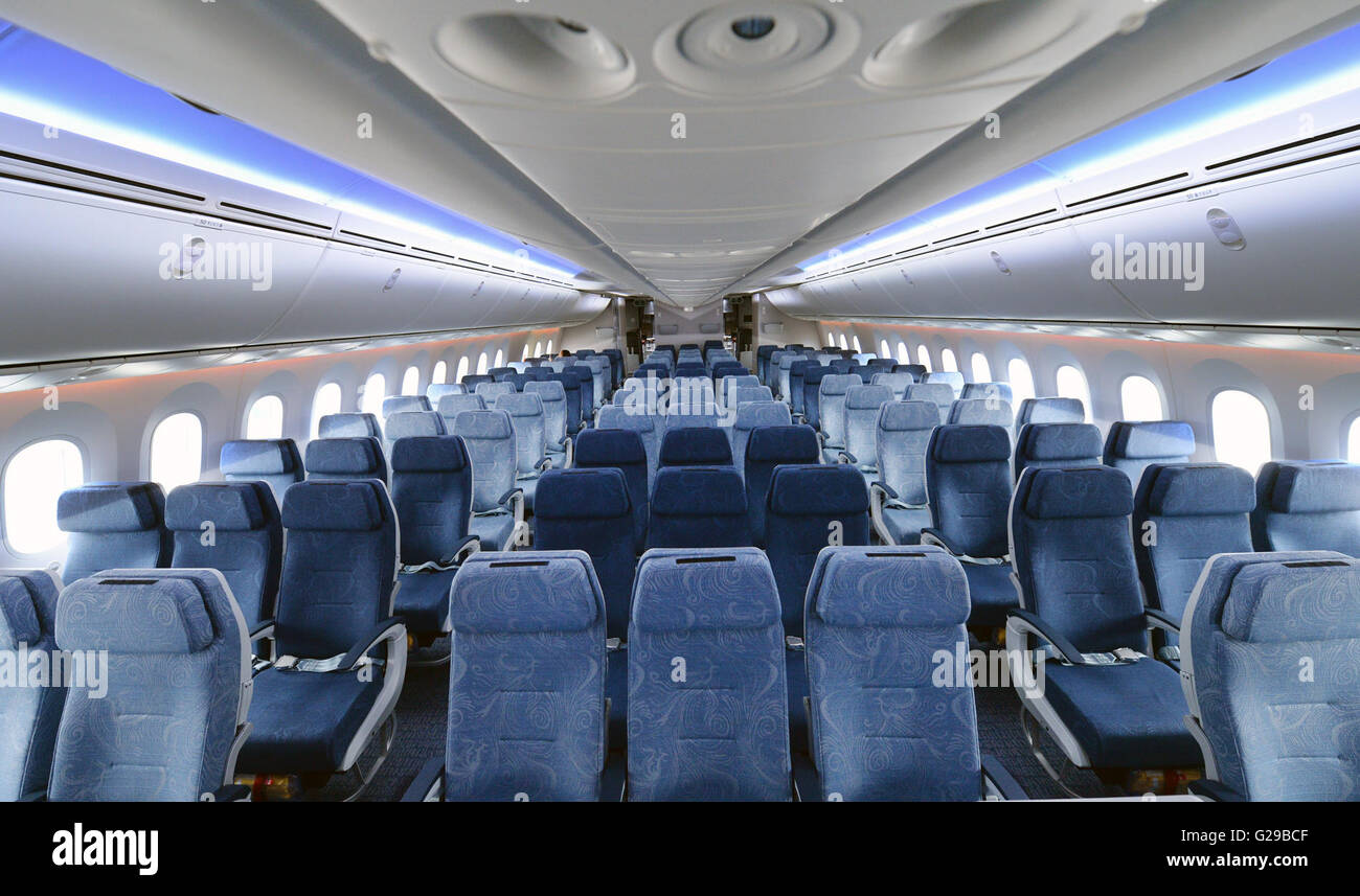 Interior boeing dreamliner 787 air stock photos interior boeing chengdu 26th may 2016 photo taken on may 18 2016 shows interior publicscrutiny Images