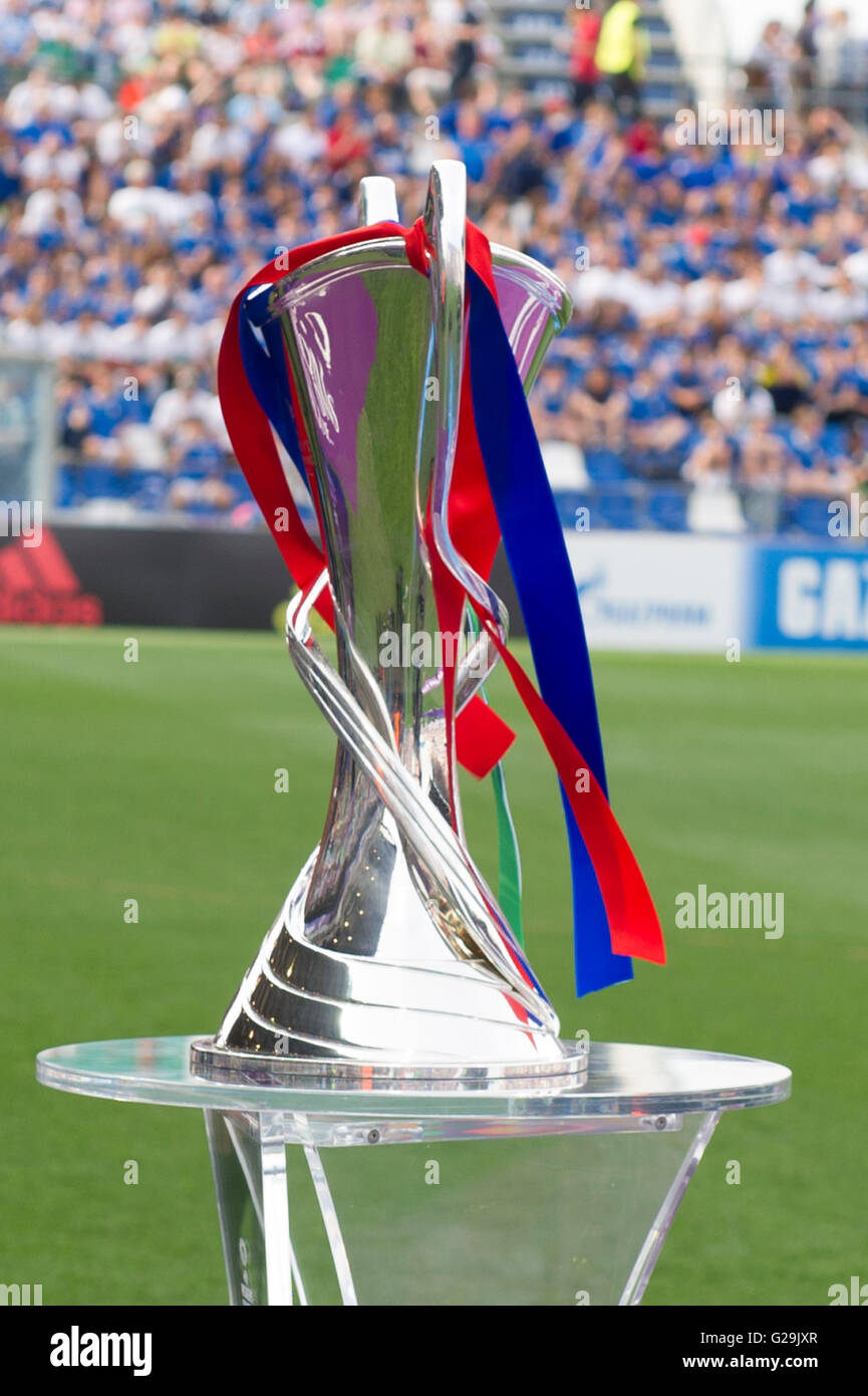 26th May 2016 UEFA Womens Champions League Trophy Football Soccer General View Final Match Between VfL Wolfsburg 13 41