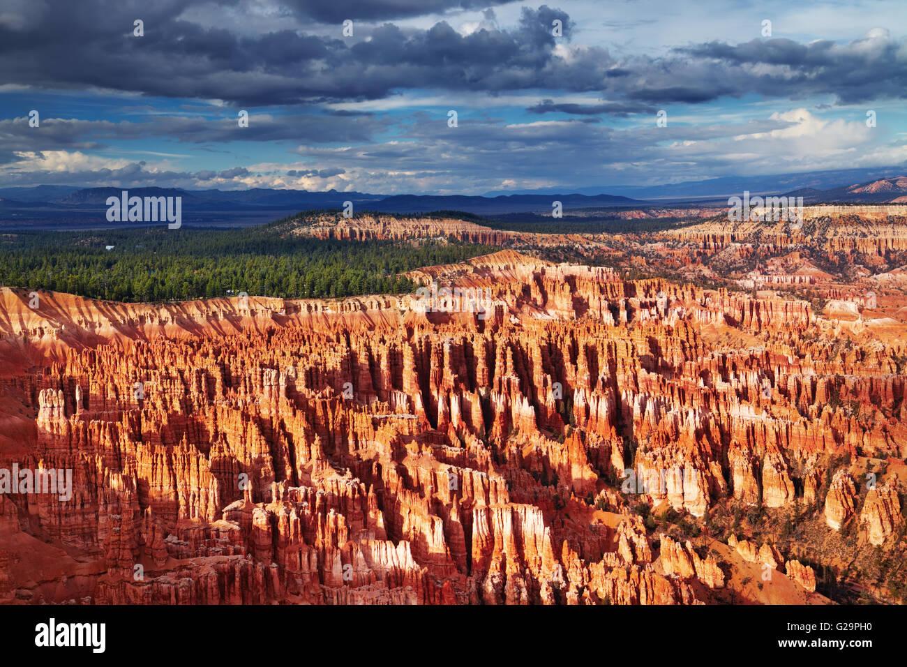 Bryce Canyon, Inspiration Point, Utah, USA - Stock Image