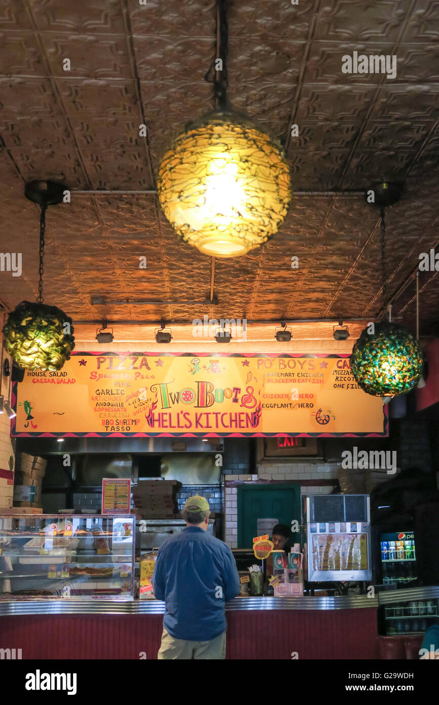 Pleasing Two Boots Pizza In Hells Kitchen Nyc Stock Photo Download Free Architecture Designs Xoliawazosbritishbridgeorg