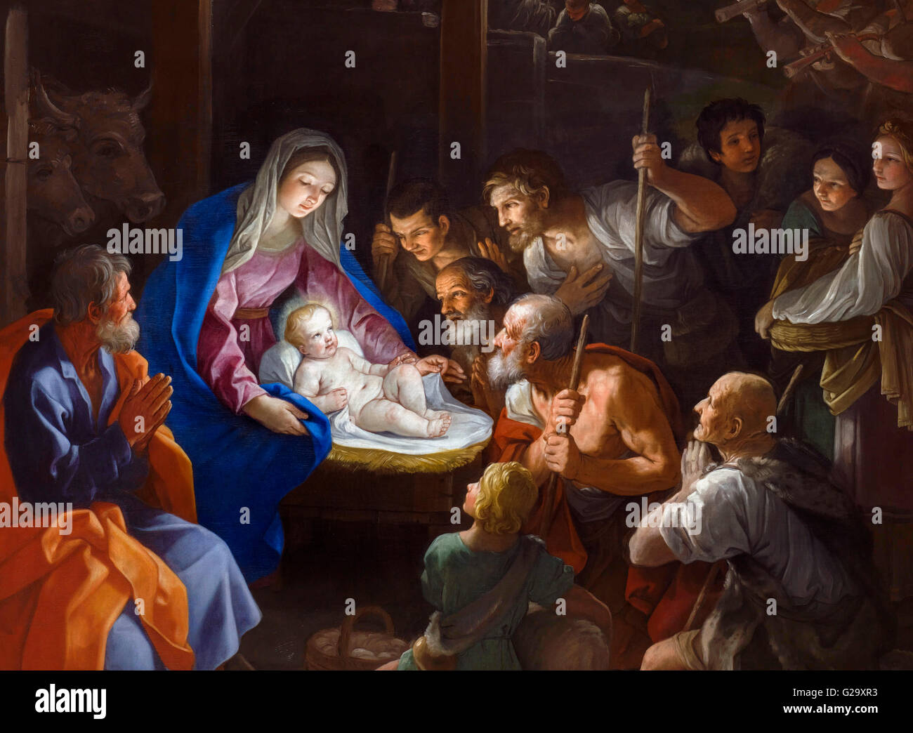 baby jesus painting stock photos baby jesus painting. Black Bedroom Furniture Sets. Home Design Ideas
