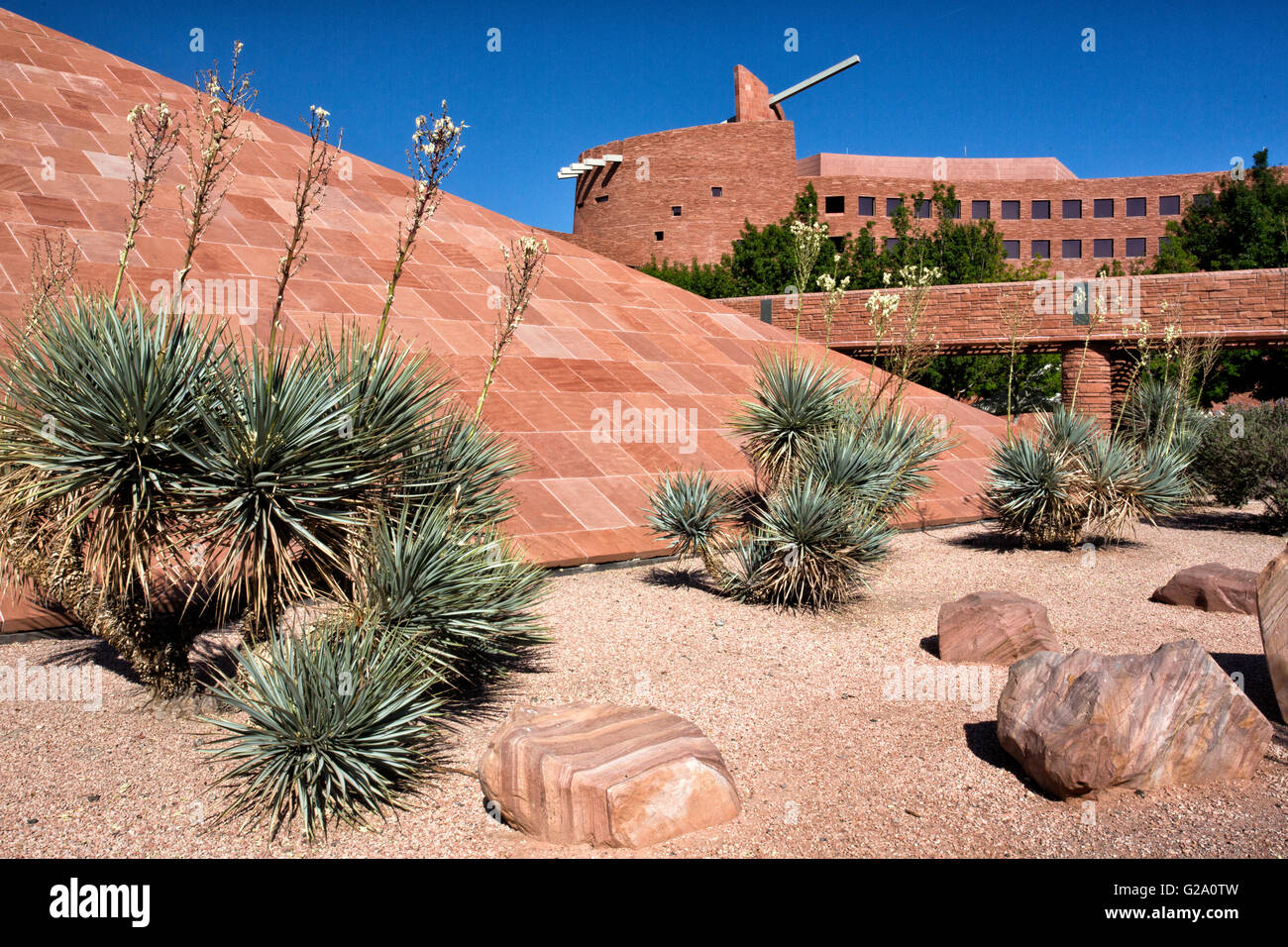 Clark County Government Center in Las Vegas - Stock Image