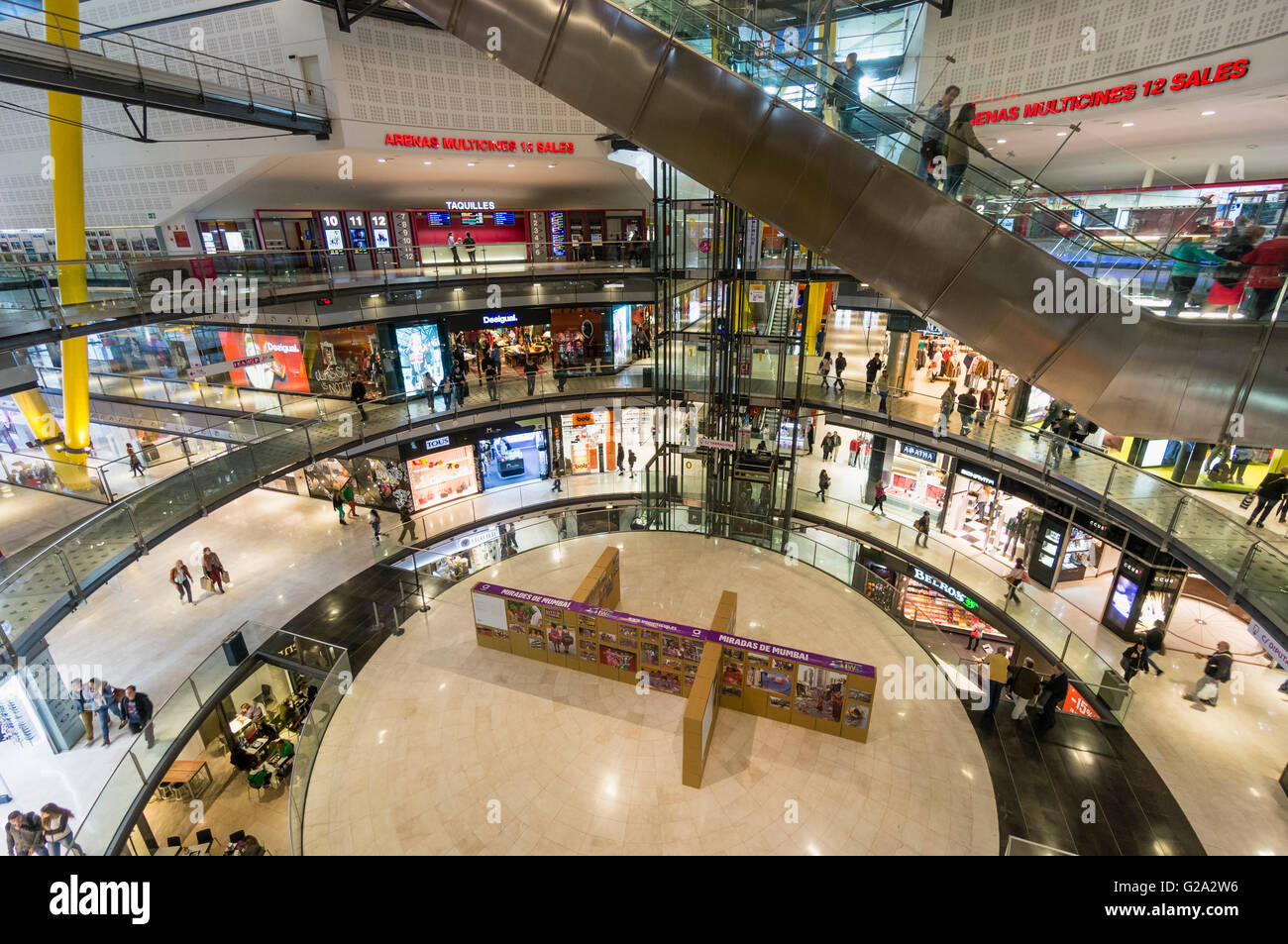 Mall Las Arenas Barcelona High Resolution Stock Photography And Images Alamy