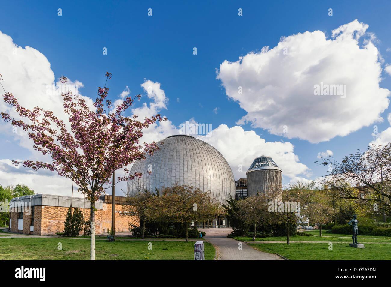 Zeiss-Planetarium, Prenzlauer Berg district, Berlin, Germany, Europe - Stock Image