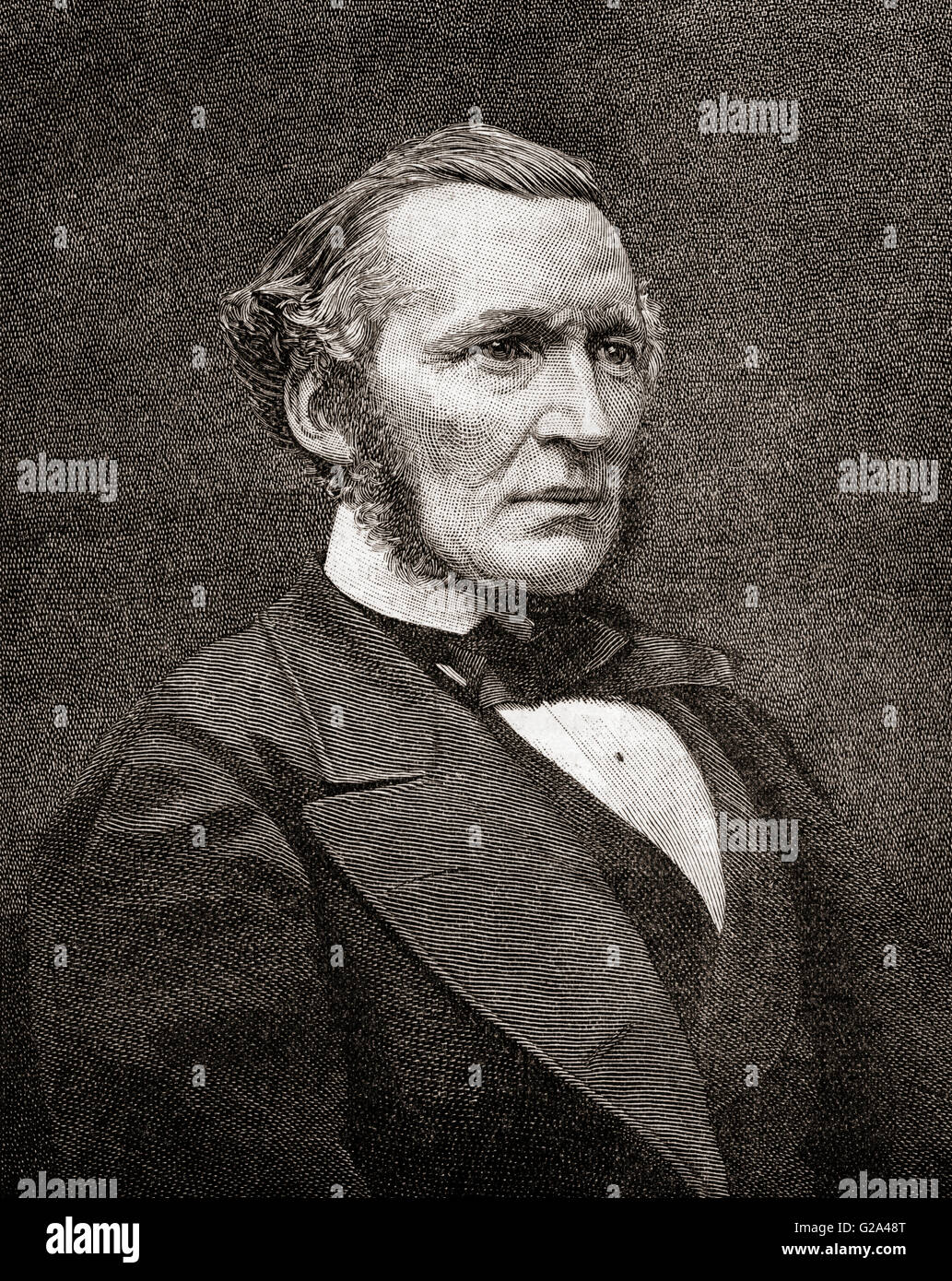 Hugh McCalmont Cairns, 1st Earl Cairns , 1819 – 1885.  British statesman, Lord Chancellor of Great Britain. - Stock Image