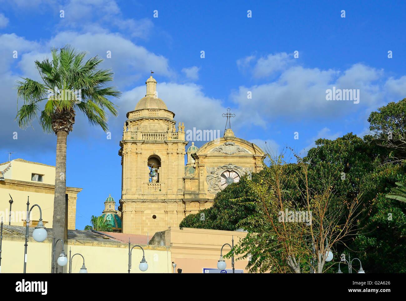 Mazara del Vallo, Cattedrale del Santissimo Salvatore Cathedral, Sicily, Italy, Europe - Stock Image