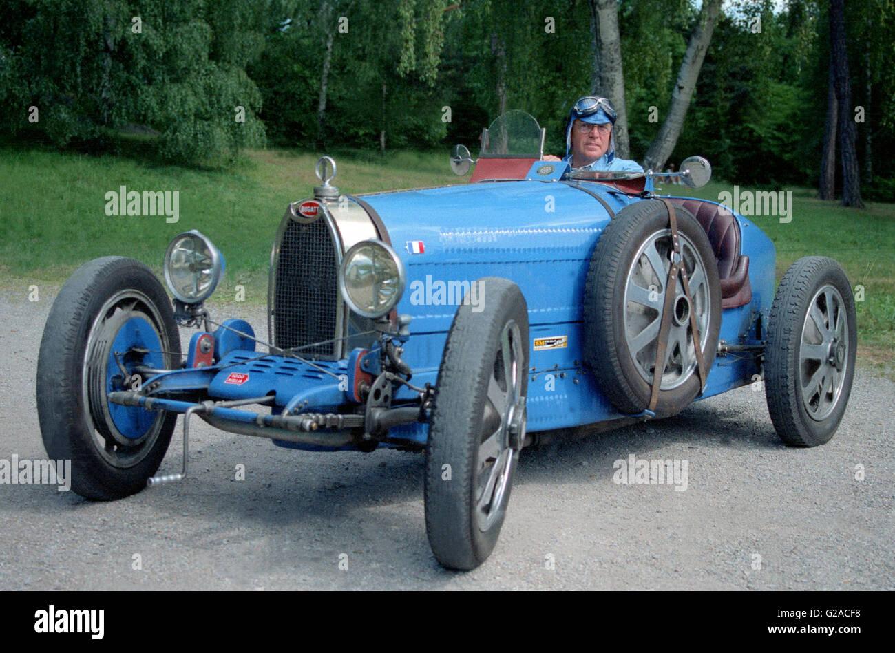 Bugatti T 37 convertible - Stock Image