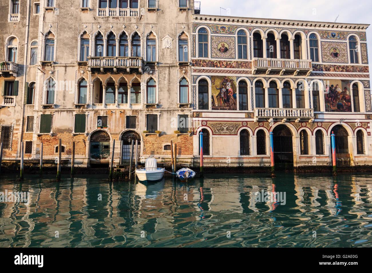 Venice canals Venice, Veneto, Italy - Stock Image
