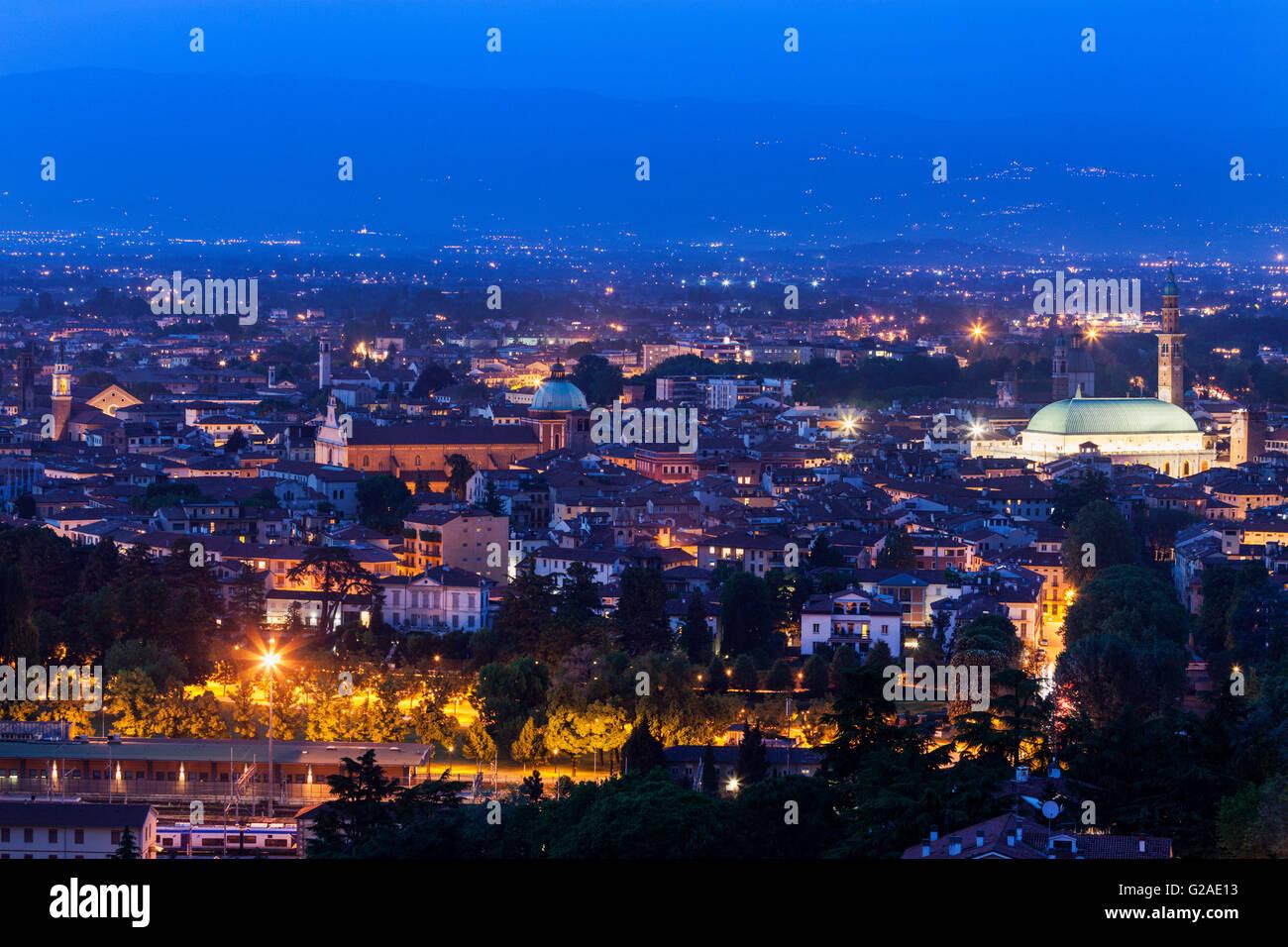 Architecture of Vicenza Vicenza, Veneto, Italy - Stock Image