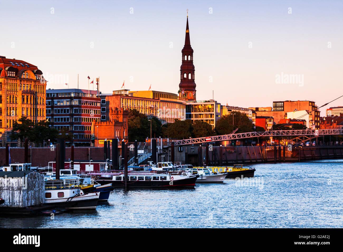Architecutre of Hamburg Hamburg, Germany - Stock Image