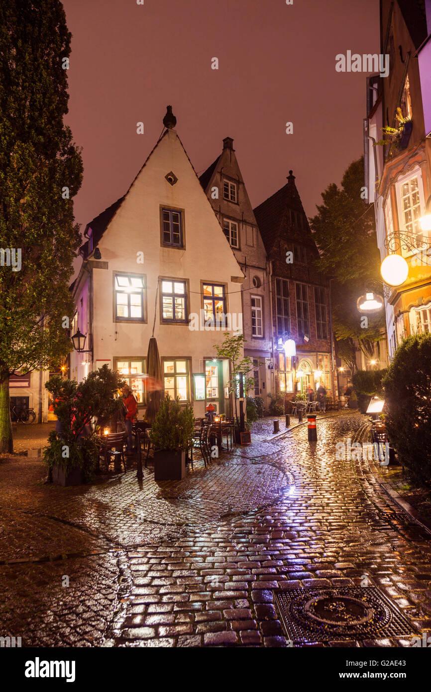Der Schnoor - Old architecutre of Bremen Bremen, Germany - Stock Image