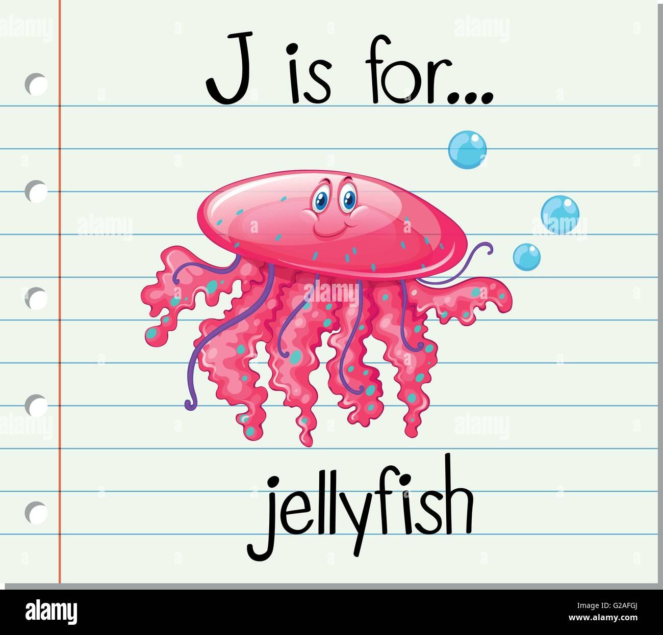 Letter J Jellyfish Stock Photos & Letter J Jellyfish Stock Images ...