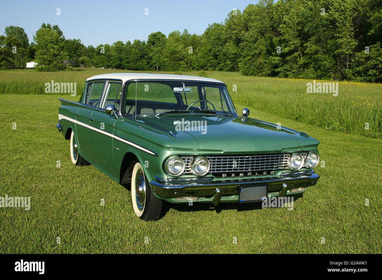 1961 AMC Rambler Classic - Stock Image