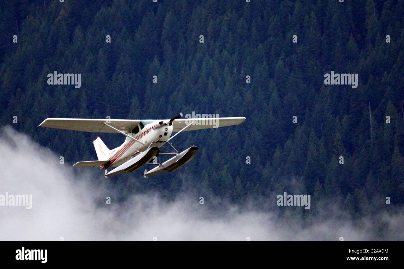 Flying Practice 10 - Cessna Aircraft - Stock Image