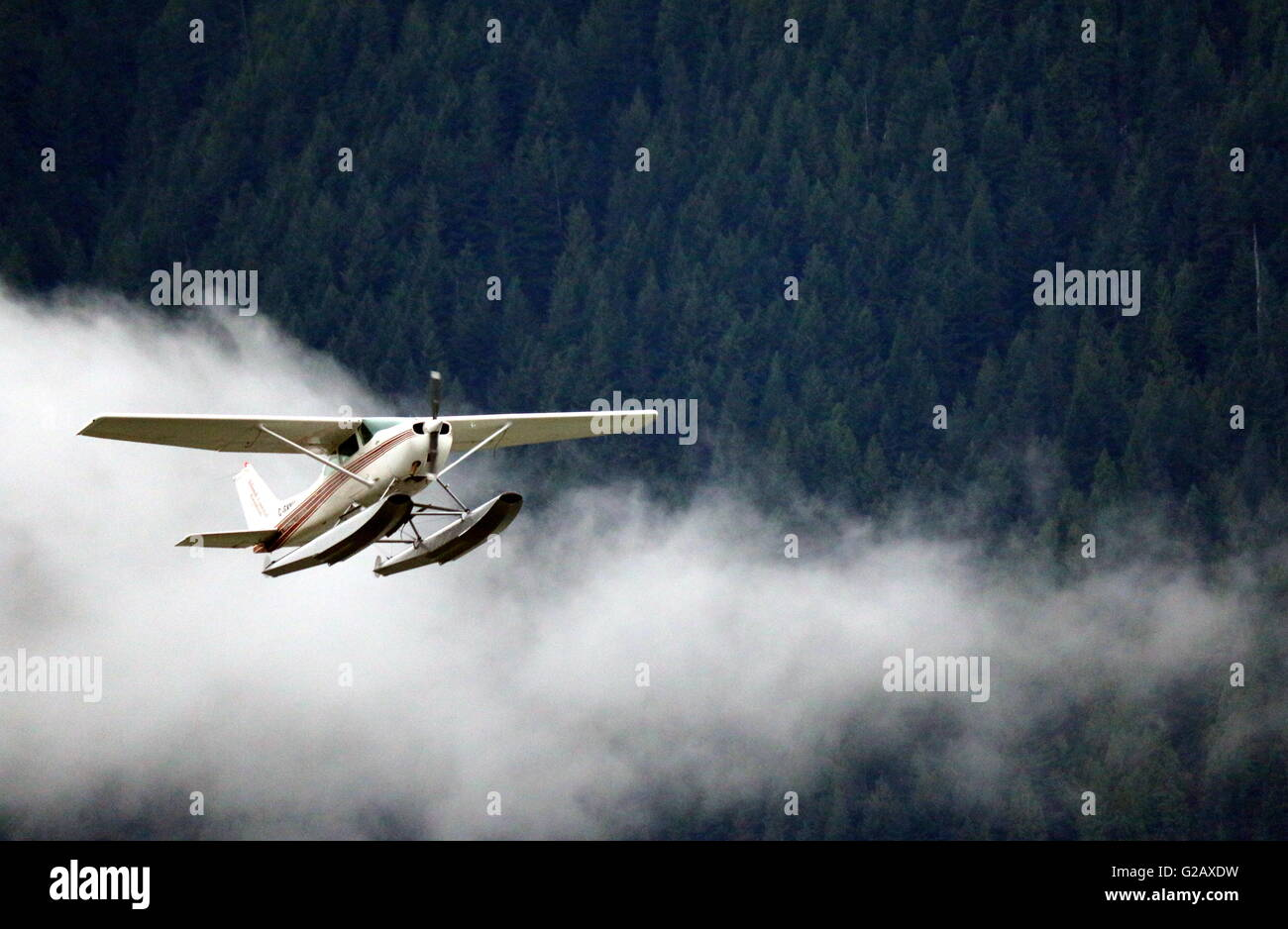 Flying Practice 8 - Cessna Aircraft - Stock Image
