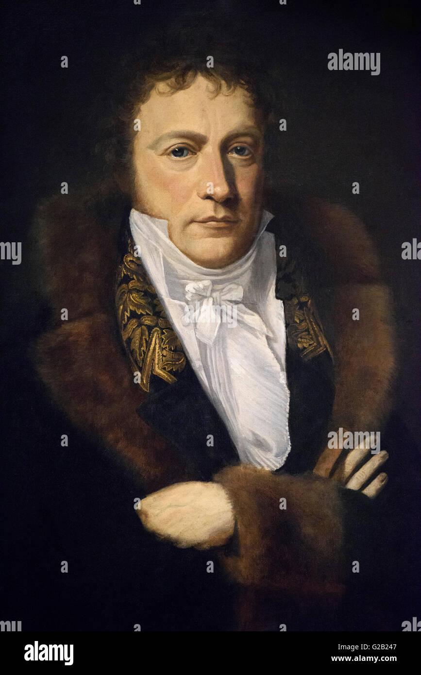 Gottlieb Schick (1776-1812), Portrait of Wilhelm von Humboldt Stock