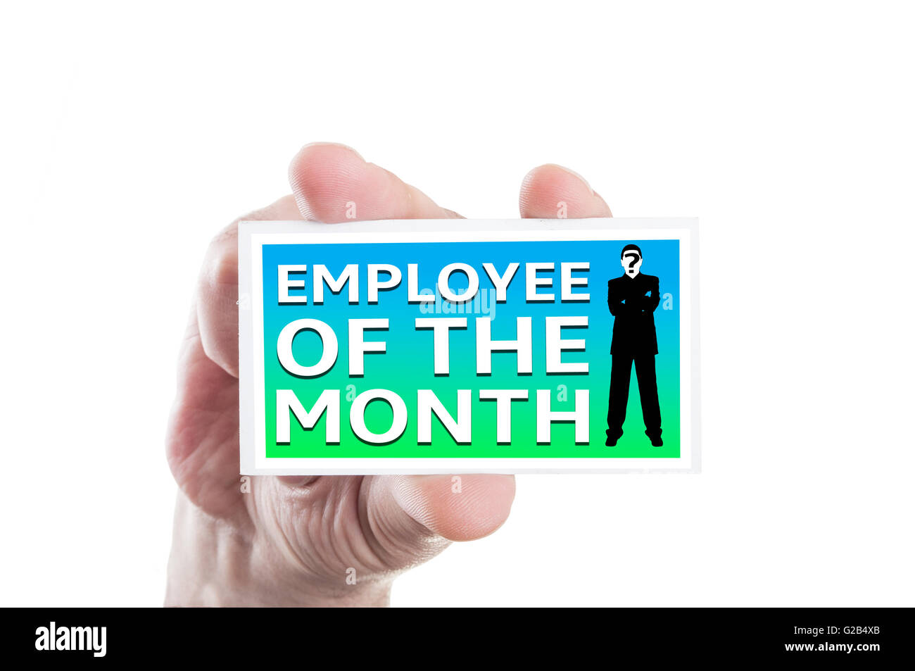 Employee Of The Month Card Amazon Com Outstanding Circuit Boardquot Stickers By Sabrina Redbubble Hand Holding Concept Isolated On White