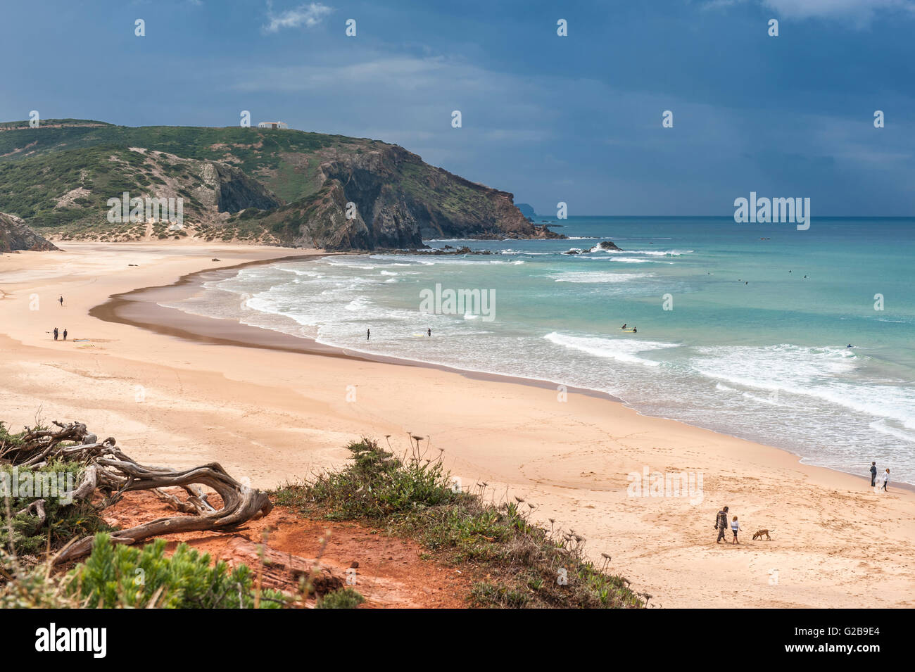 Praia do Amado on the west coast of Portugal. | This is