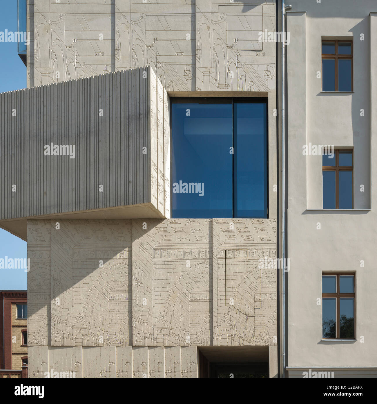 the museum for architectural drawing in berlin close up view of the