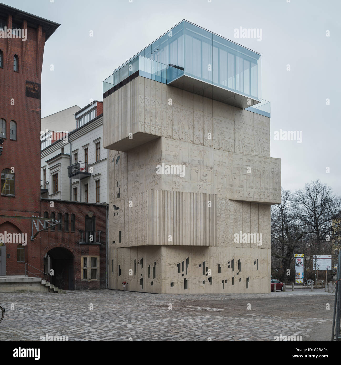 the museum for architectural drawing in berlin exterior view of the