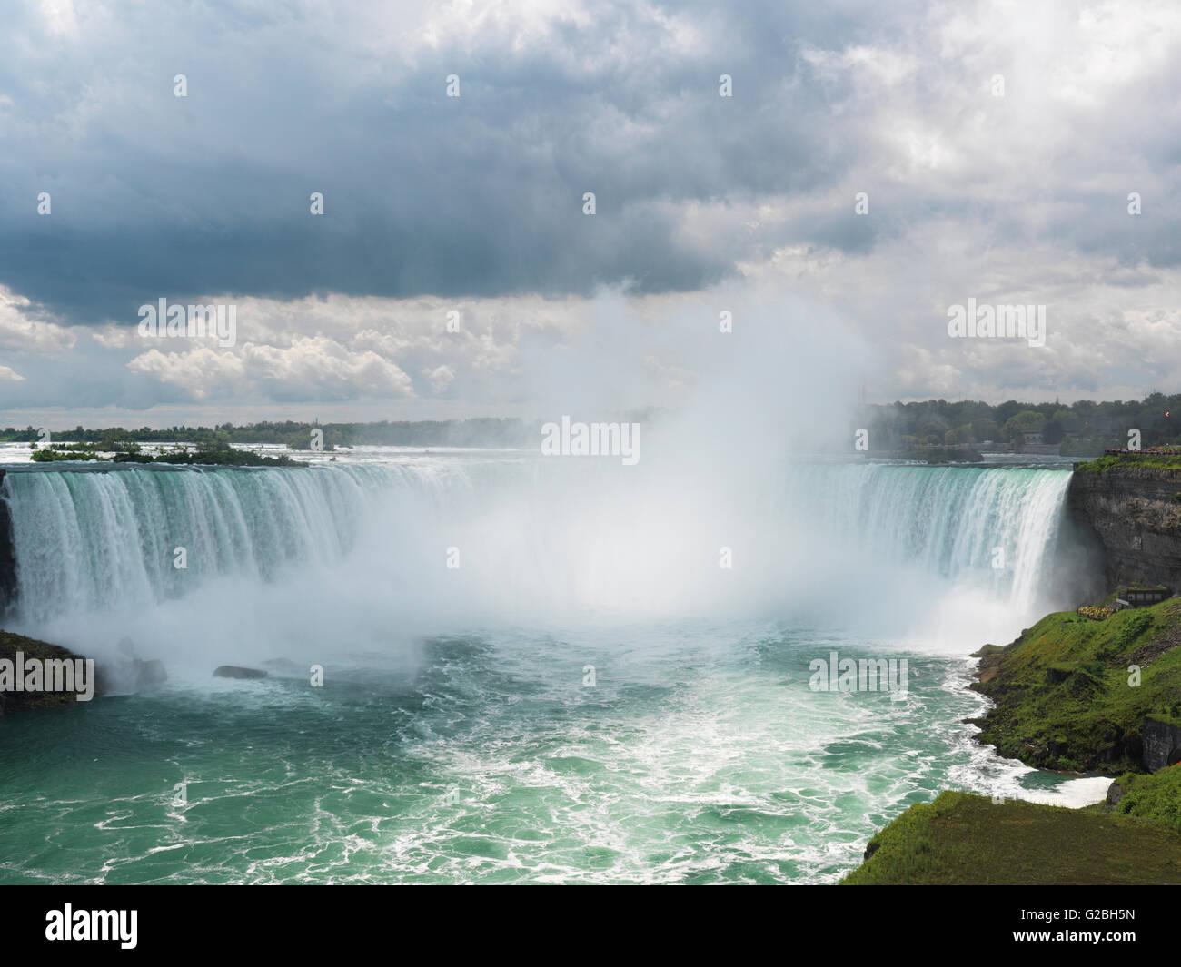 Horseshoe Falls, Niagara Falls, Ontario, Canada - Stock Image