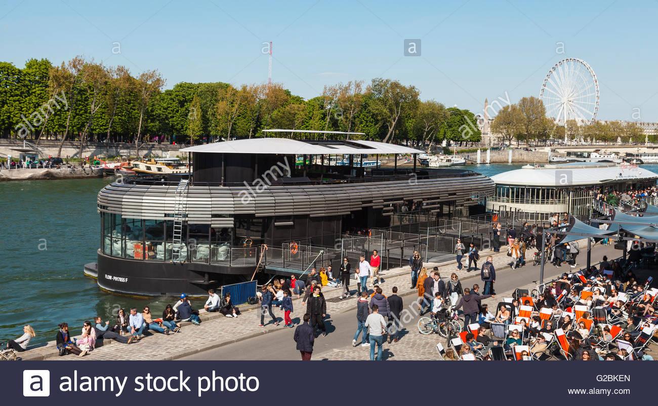 Bistrot Alexandre III, Paris, 2016 - Stock Image