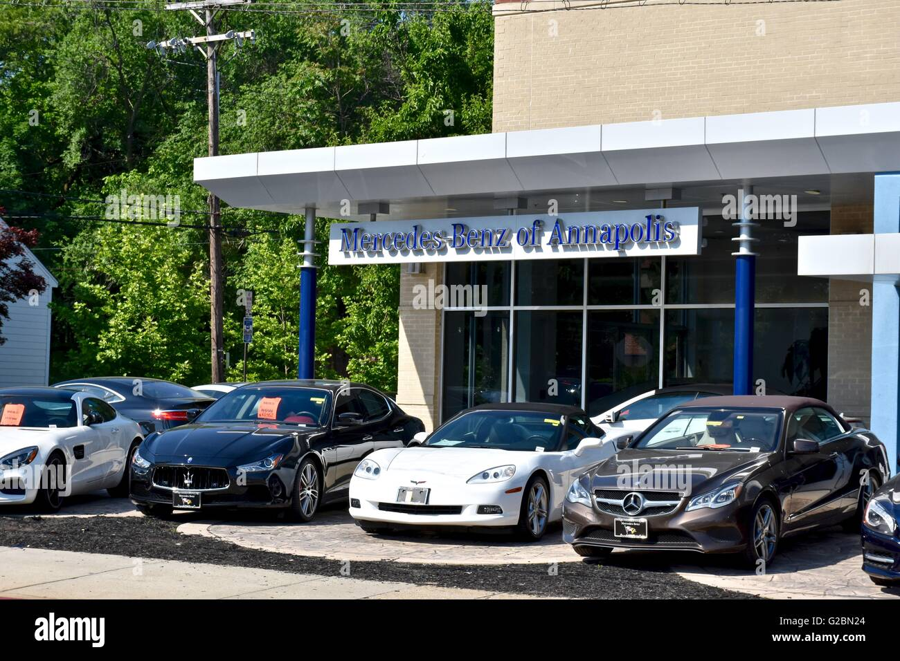 Mercedes Of Annapolis >> Mercedes Benz Of Annapolis Stock Photo 104749516 Alamy
