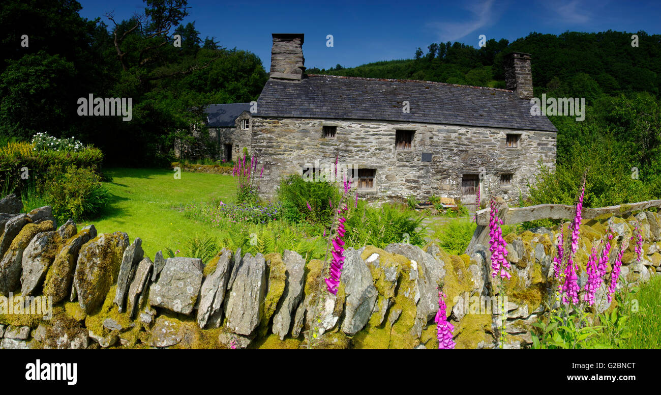 Ty Mawr, Bithplace of Bishop Morgan - Stock Image